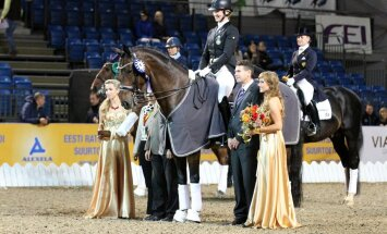 Horse Show koolisõidu MK esimese ala võitis Jennie Larsson Rootsist