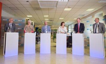 Presidendikandidaatide debati ettevalmistused