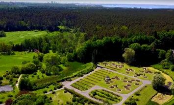 VIDEO: Eesti suurim aed näeb linnulennult uhke välja