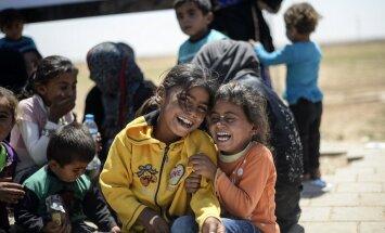 Süüriast pärit põgenikelaagri lapsi ei oota meie mõistes ees miski.
