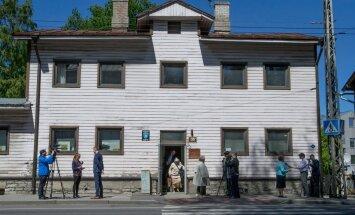 Uue süstlavahetuspunkti ruumid aadressil Paldiski mnt 36a
