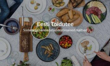 Eesti toidutee 120 ettevõtet said veebikaardile
