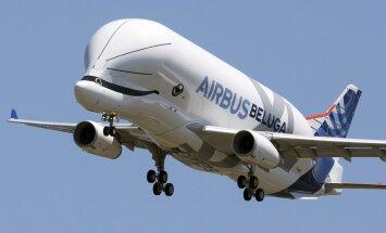 ФОТО: Новый самолет Airbus BelugaXL очаровал весь мир