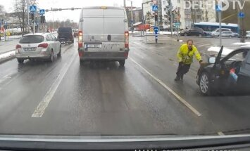 ВИДЕО: Один сумасшедший день на дорогах Таллинна