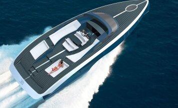 Niniette: Selline asi sünnib, kui Bugatti läheb kihutama merele