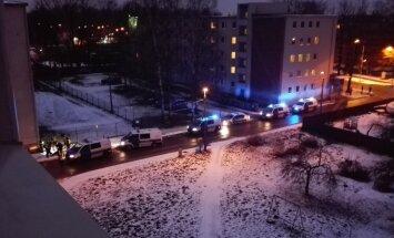 Siidisaba tänaval politsei