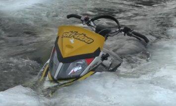 Videod: Kas lumesaan on ikka veesõiduk või ei ole?
