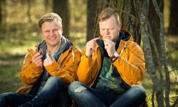 Saatejuhid Indrek Vaheoja ja Kristjan Rabi lubavad Eesti risti ja põiki läbi sõita.