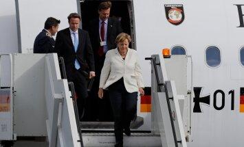 OTSEBLOGI: Saksamaa kantsler Angela Merkel saabus Eestisse visiidile