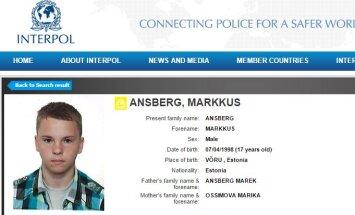 Kadunud Markkus Ansbergi otsitakse nüüd Interpoli vahendusel