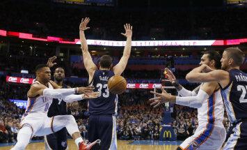 VIDEO: Hooaja 25. kolmikduubli teinud Westbrook läheneb jõudsalt Chamberlaini rekordile