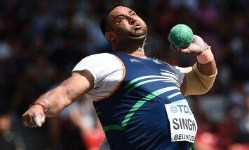 India kuulitõukaja kahtlustab oma positiivses dopinguproovis vandenõud
