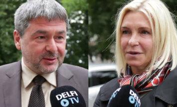 Oleg Ossinovski ja Irina Osinovskaja