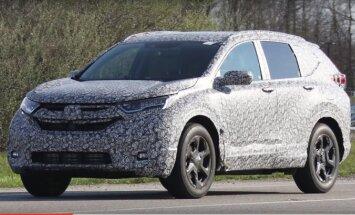 Järgmine Honda CR-V on suurem ja pakub kolme istmerida