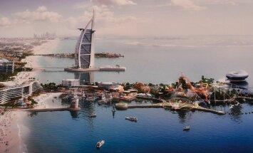 В Дубае построят новый курорт на двух искусственных островах