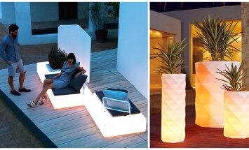 Kuidas luua hubane ruum valgustatud mööbliga?