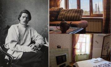 В Санкт-Петербурге выставили на продажу квартиру Максима Горького
