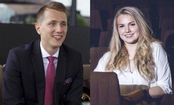 Kaks edukat Eesti noort valiti töövarjuks Euroopa tippjuhtidele