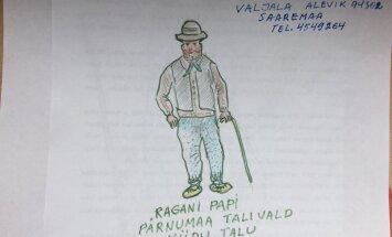 Jäädvustame Eesti elu: Luupeaga taskunuga oli Ragani Papil ikka alati kaasas