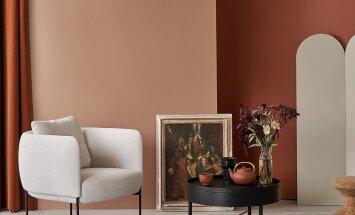 SISEKUJUNDUS | Punakaspruun terrakota toob heledasse interjööri soojust