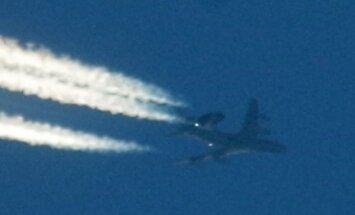 FOTO: Lugeja püüdis pildile taevasse ringe joonistanud lennuki