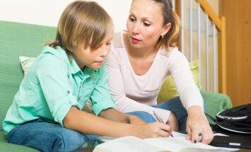 Mõned väga olulised mõtted laste hinnete ja koduste ülesannete kohta