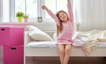Kuidas tagada lapsele pikk ja magus uni?