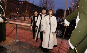 President Kersti Kaljulaid ja hr Georgi-Rene Maksimovski