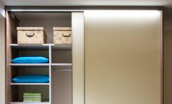 Vali garderoobisüsteemidele õige valguslahendus!