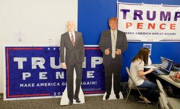 Trumpi kampaania Indiana peakorter. Kas Pence on kaine mõistusega juht ja Trumpist parem?