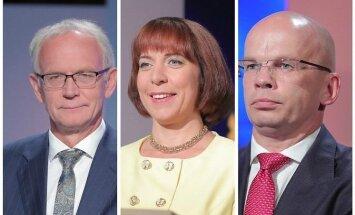 Presidendikandidaadid riigikogu esimeses voorus