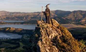 По следам хоббитов: индийский фотограф объехал Новую Зеландию в костюме Гэндальфа