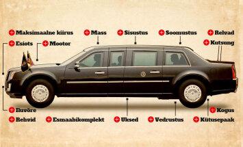Cadillac One: selline saab ilmselt olema järgmise USA presidendi Donald Trumpi ametiauto