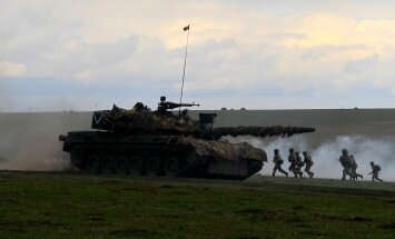 Briti Challenger tank