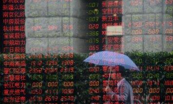 Hiina ammu kardetud börsikrahh on kohal ja see tekitab judinaid: paari nädalaga haihtus 2,5 triljonit dollarit