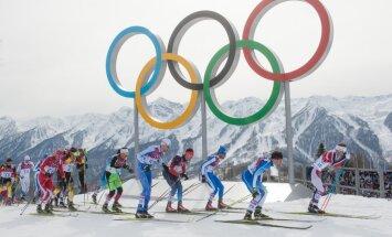 Sotši olümpia meeste suusavahetusega sõit