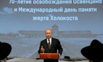 Putin: lubamatud ja kõlvatud katsed ajalugu ümber kirjutada on mõeldud isikliku häbi varjamiseks
