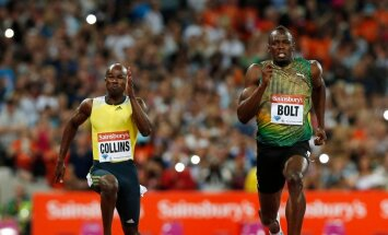 Kim Collins, Usain Bolt