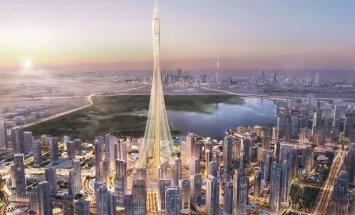 В Дубае начали строить рекордно высокий небоскреб