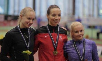 VIDEO: Merilyn Uudmäe alistas ema Maie rekordi ja krooniti esmakordselt Eesti kaugushüppemeistriks
