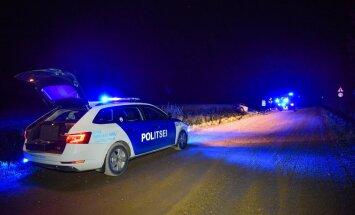 Viljandimaal sõitis auto teelt välja kraavi