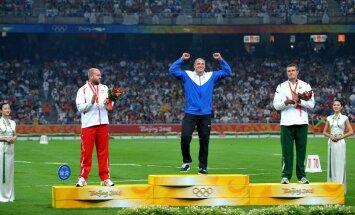 Gerd Kanter on olümpiavõitja
