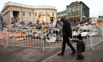 Kreml Moskvas lammutatavatest müügipindadest: neil ussipesadel pole mingit pistmist väikeettevõtlusega