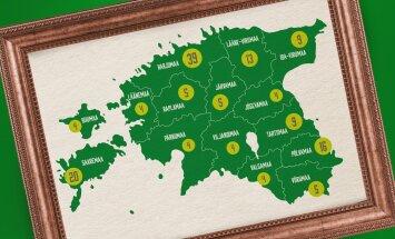 """Maalehe ettevõtmise """"Jäädvustame Eestimaa"""" tarvis laekus lugusid kõikidest maakondadest"""