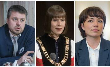 Urmas Reinsalu, Kersti Kaljulaid, Liina Kersna