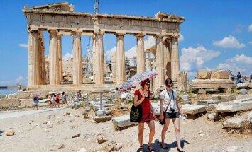 Российский турпоток в Грецию в марте вырос на 523%