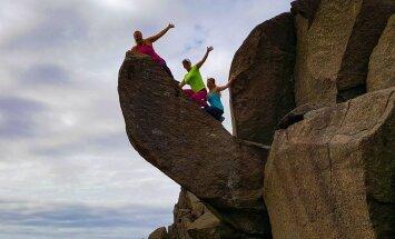 """Вандалы сломали """"неприличную"""" скалу в Норвегии"""