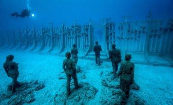 Avati Euroopa esimene täiesti veealune muuseum