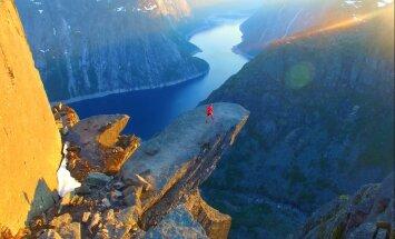 Невероятная Норвегия: 17-летний юноша снимает Норвегию с высоты птичьего полета