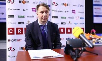 VIDEO: Kalevi ajutine juhendaja Indrek Reinbok: juba avapoolajal olid ohumärgid